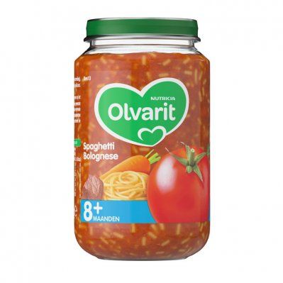 Olvarit Italiaanse spaghetti bolognese 8 mnd
