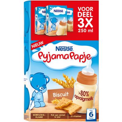 Nestlé Pyjamapapje biscuit 6+ mnd baby pap