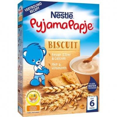Nestlé Pyjamapapje biscuit vanaf 6 mnd