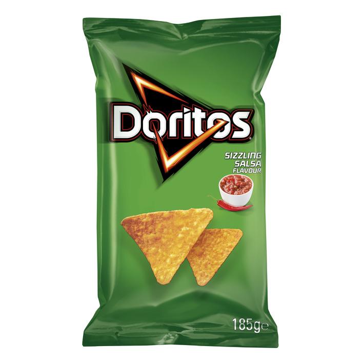 Doritos Sizzling salsa tortilla chips