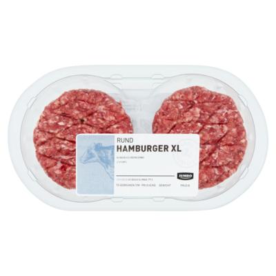 Huismerk Rund Hamburger XL 2 Stuks