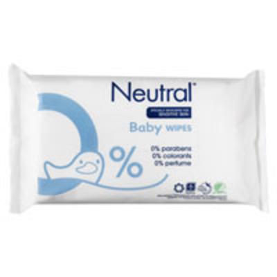 Neutral Baby billendoekjes parfumvrij