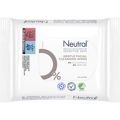 Neutral Parfumvrij make-up remover wipes