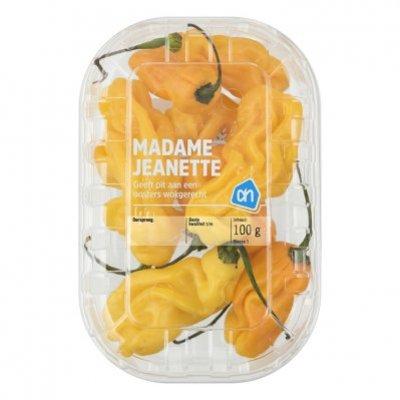 Huismerk Madame Jeanette (chili peper)