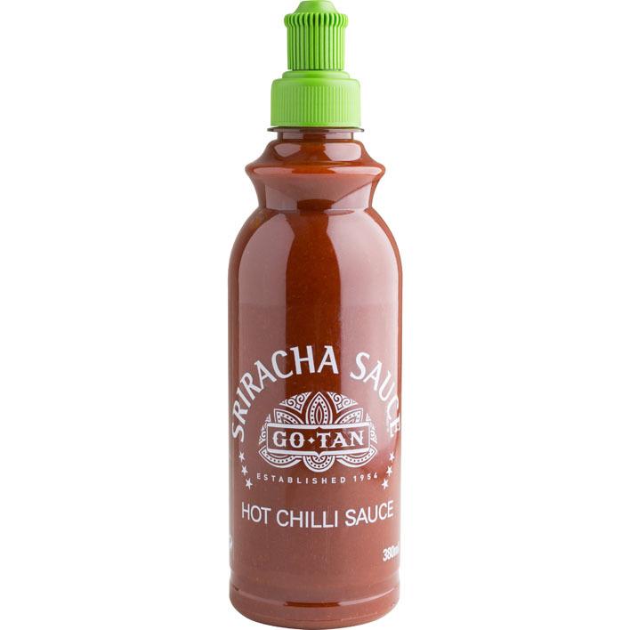 Go-Tan Sriracha sauce hot chilli