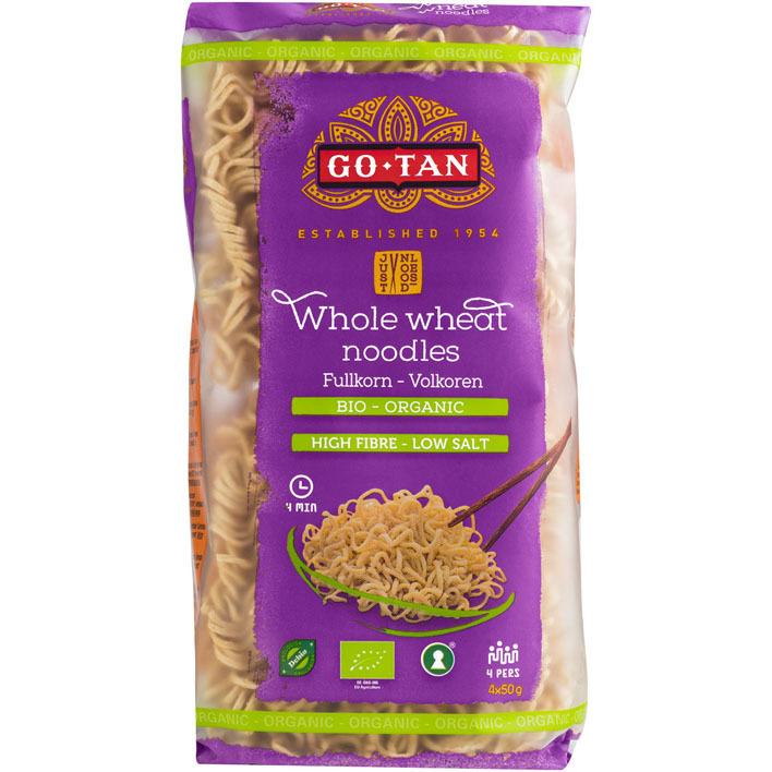 Go-Tan Whole wheat noodles volkoren bio