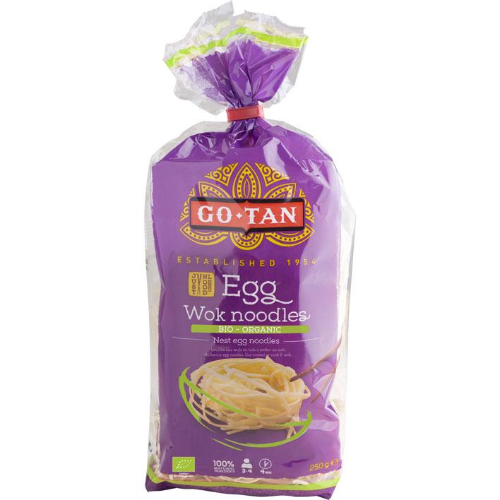 Go-Tan Egg wok noodles bio