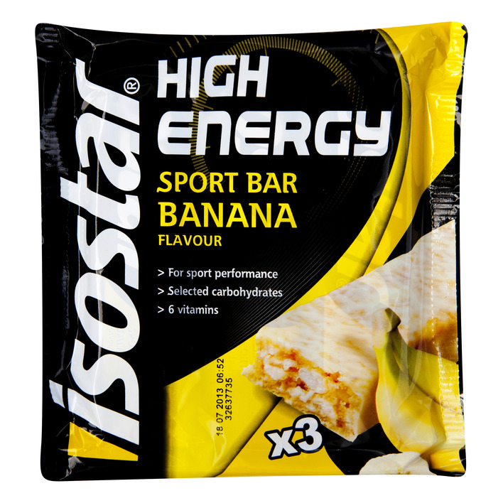 Isostar High energy sportbar banana