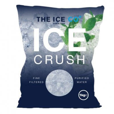 The O Ice crush (crushed ice)