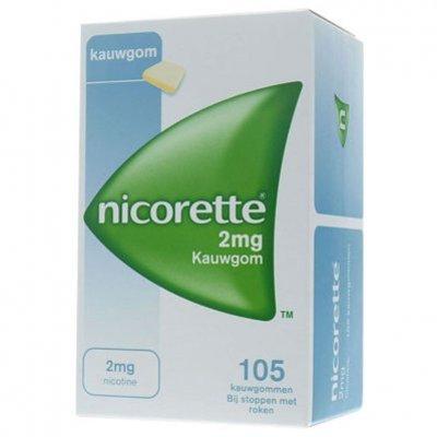 Nicorette Kauwgom classic 2 mg