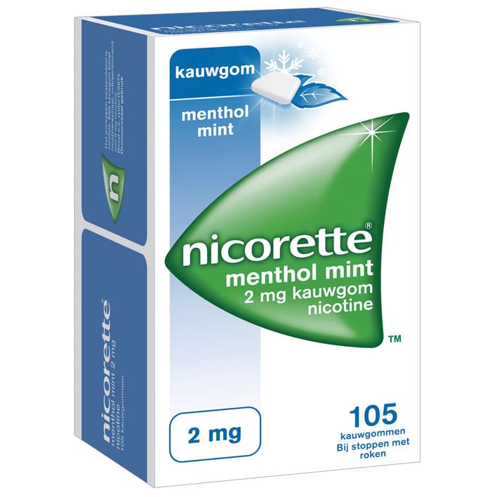 Nicorette Kauwgom mint 2 mg