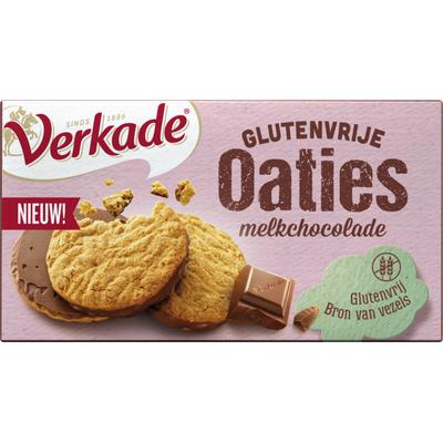 Verkade Glutenvrije oaties melkchocolade
