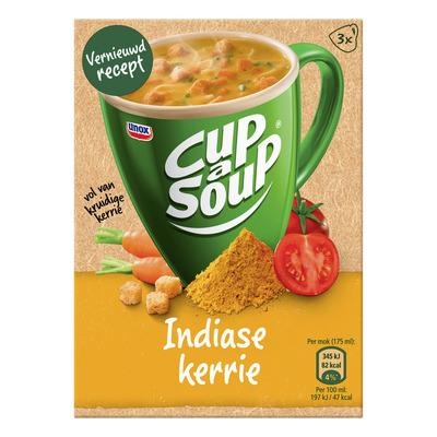 Unox Cup-a-soup Indiase kerrie soep