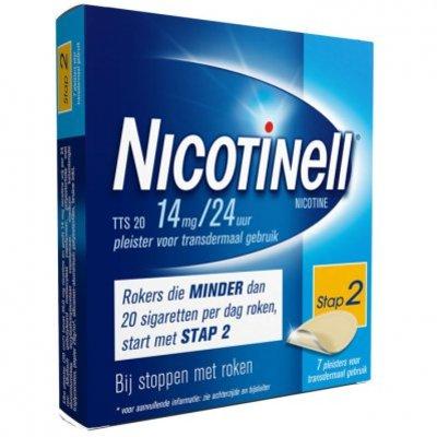 Nicotinell Pleisters 14mg/24u stoppen met roken