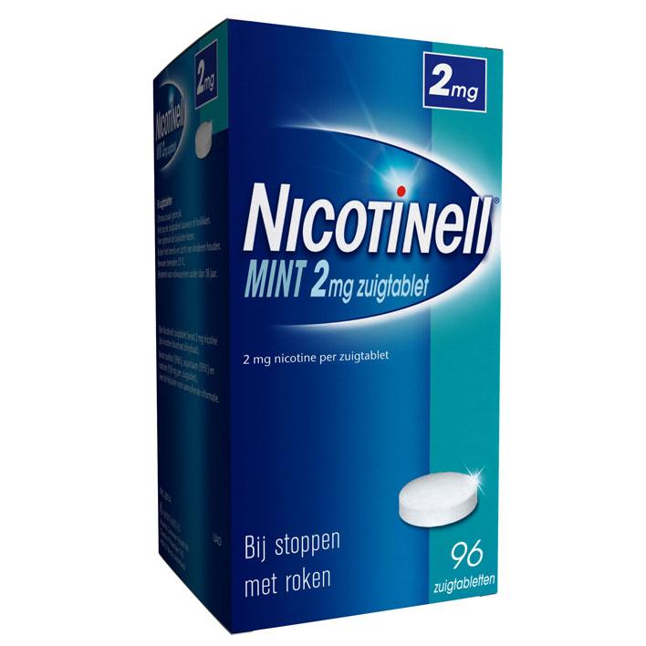 Nicotinell Mint zuigtablet 2mg stoppen met roken