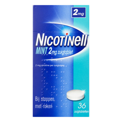 Nicotinell Zuigtabletten mint 2 mg