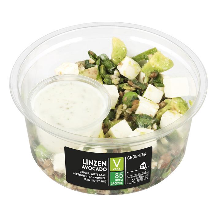 Huismerk Groente& linzen-avocado