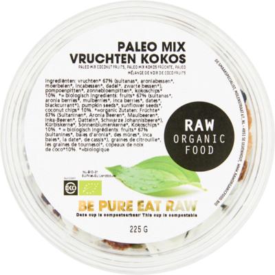 Raworganic Paleo vruchten kokosmix