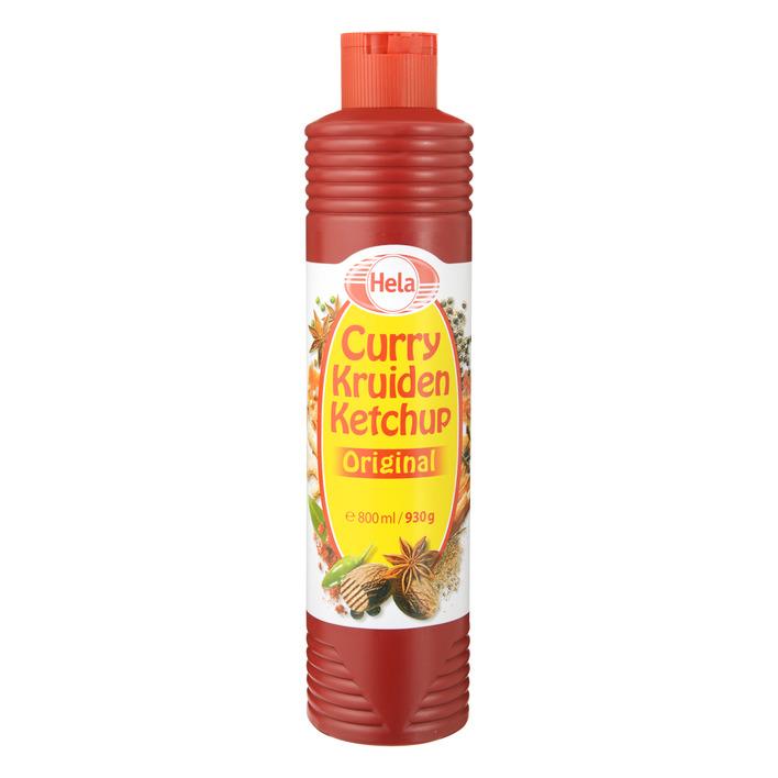 Hela curry kruidenketchup original