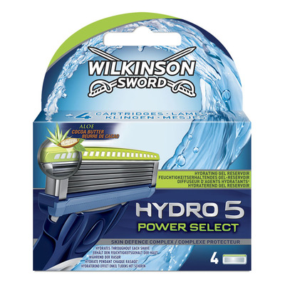 Wilkinson Hydro 5 power select 4 blades