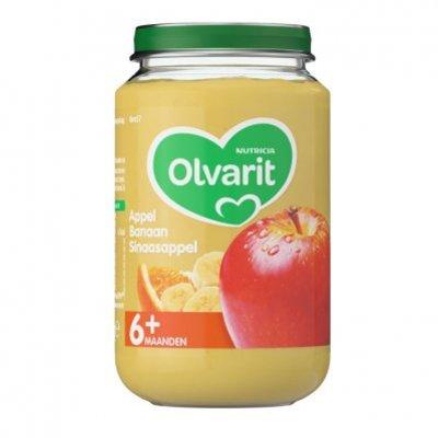 Olvarit Appel banaan sinaasappel 6+ mnd