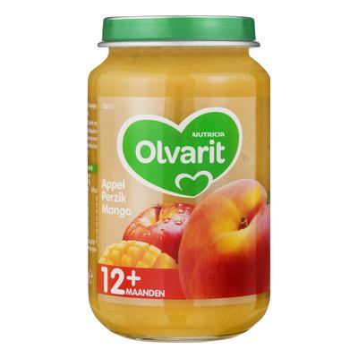 Olvarit Appel perzik mango 12+ mnd