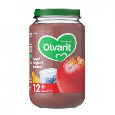 Olvarit Appel yoghurt bosbes 12+ mnd