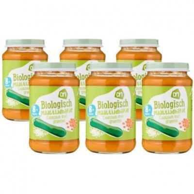 Huismerk Biologisch Couscous met groente 8m multipack