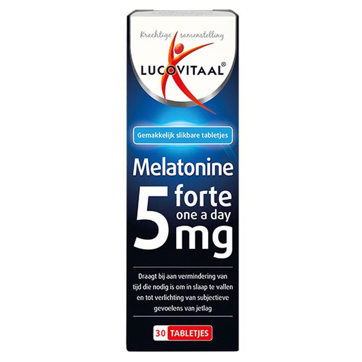 Lucovitaal Melatonine forte 5 mg