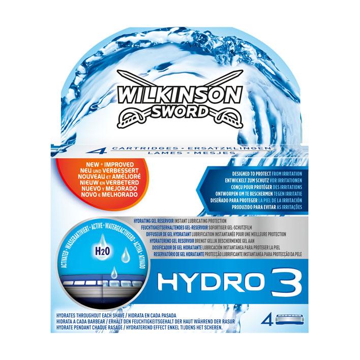 Wilkinson Hydro 3 navulmesjes