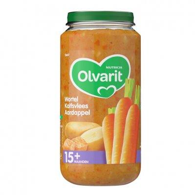Olvarit Wortel kalfsvlees aardappel 15+ mnd