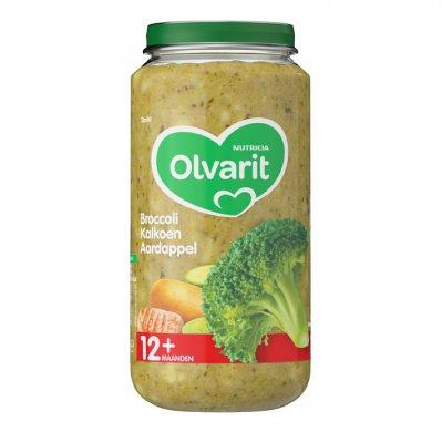 Olvarit Broccoli kalkoen aardappel 12+ mnd
