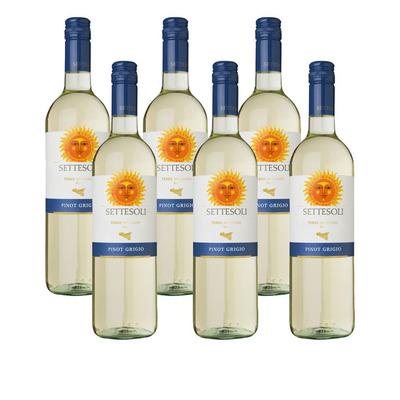 Settesoli 6 x Pinot Grigio