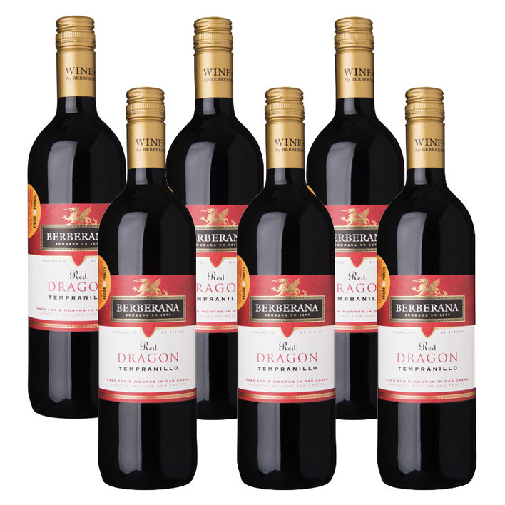 Berberana 6 x Red Dragon Tempranillo