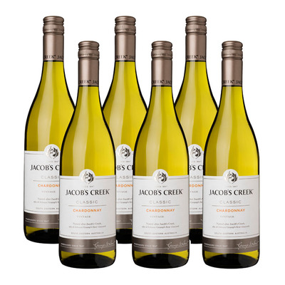 Jacob's Creek 6 x Chardonnay