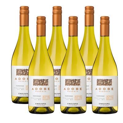 Adobe 6 x Chardonnay Reserva
