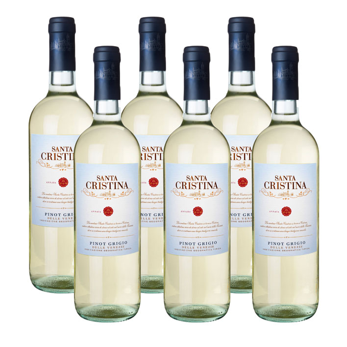 Antinori 6 x Santa Cristina Pinot Grigio