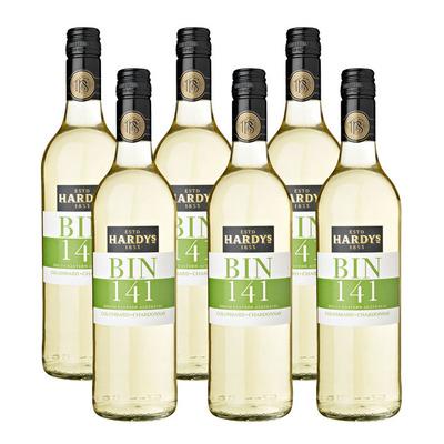 Hardys 6 x Bin 141 Colombard Chardonnay