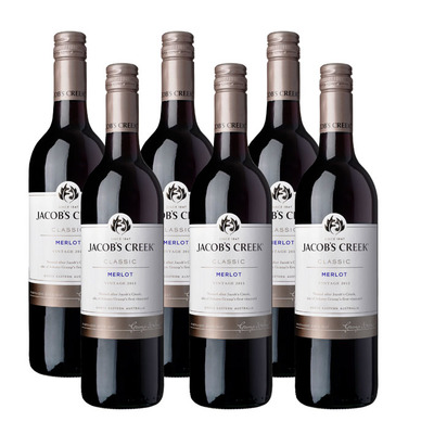 Jacob's Creek 6 x Merlot