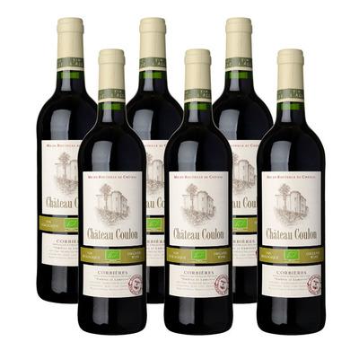 Château Coulon 6 x Rouge vin biologique