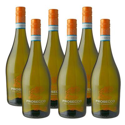 Solatio 6 x Vino Frizzante Prosecco DOC