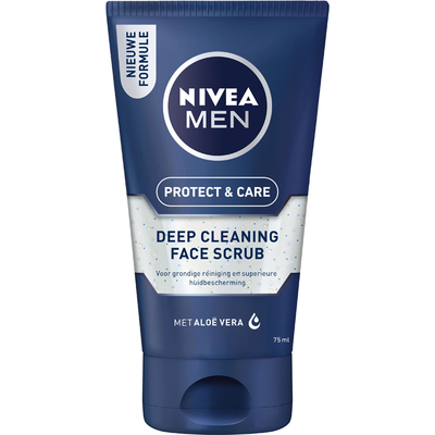 Nivea For men face scrub deep cleaning