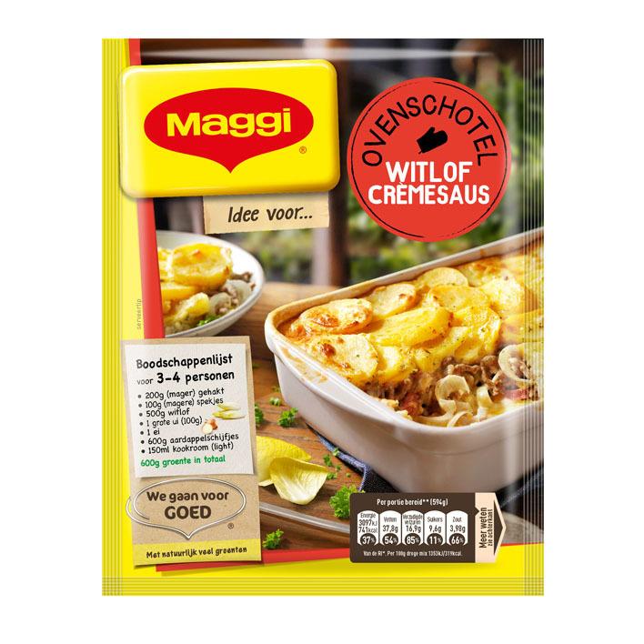 Maggi Ovenschotel witlof-crèmesaus