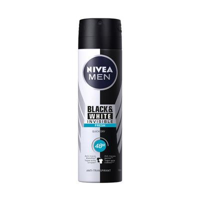 Nivea For men inv. black&white fresh 48h spray
