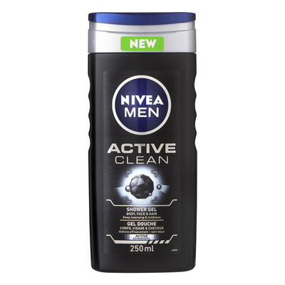 Nivea Men active clean shower gel