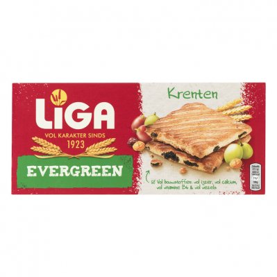 Liga Evergreen biscuits krenten