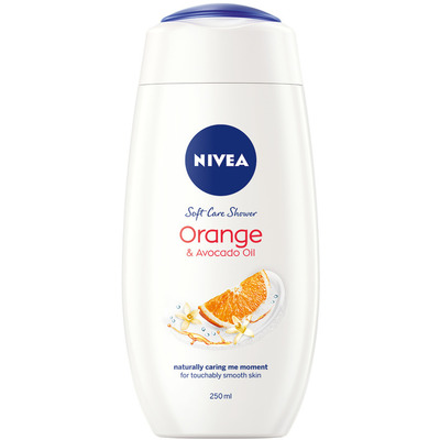 Nivea Care & orange douchecreme