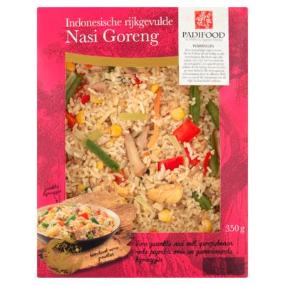 Padifood Indonesische Rijkgevulde Nasi Goreng 350 g