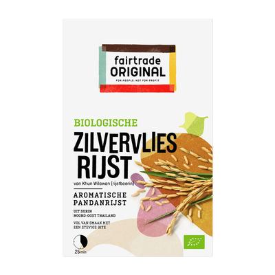 Fairtrade Original Biologische zilvervlies rijst