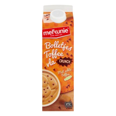 Melkunie Bolletjes Toffeevla Crunchy